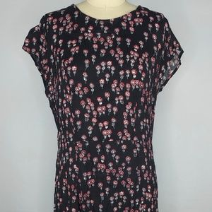 Free People Floral Corrie Dress sz 8 NWT